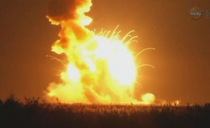NASA Rocket Explodes on Launch in Virginia