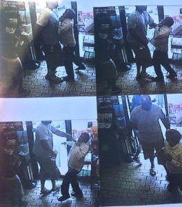 Pictures of the criminal Michael Brown Robbing a Convenience Store