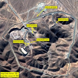 Hardened Iranian Nuclear Facility at Fordo(w)