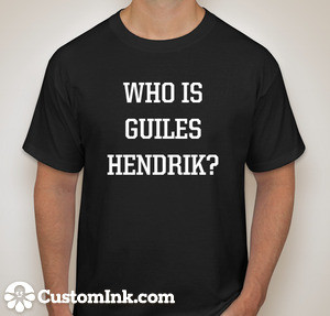 Who is Guiles Hendrik Front